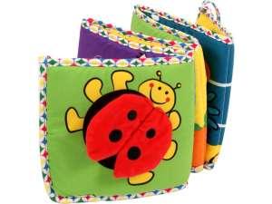Textil babakönyv és rácsvédő bébijáték 31027654 Textil könyv gyerekeknek