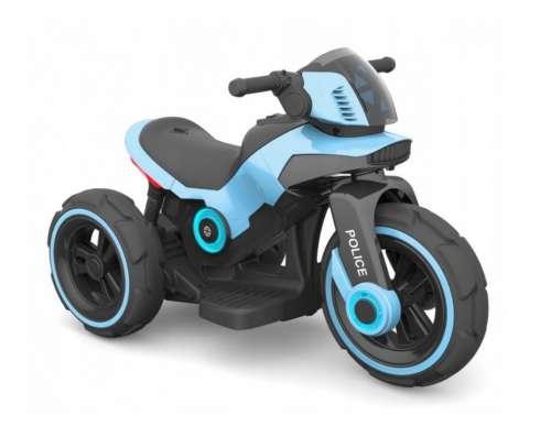 Baby Mix 3 kerekű Elektromos motor - Police #kék