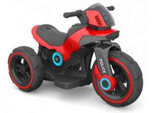 Baby Mix 3 kerekű Elektromos motor - Police #piros 31019158 Baby Mix Elektromos jármű