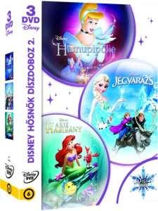 Disney hősnők díszdoboz 2. (DVD)