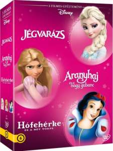 Disney Hősnők 3. - díszdoboz (DVD)