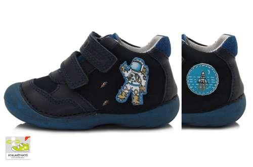D.D.STEP kék fiú tépőzáras gyerekcipő 18-23