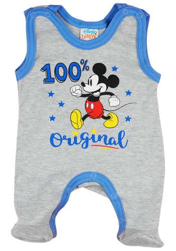 Disney ujjatlan Rugdalózó - Mickey Mouse #szürke