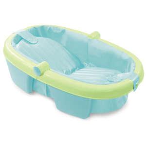 Summer Infant Fold Away összecsukható babakád kék/zöld 31023574 Summer Infant Kád, kádállvány