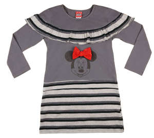 Disney Minnie hosszú ujjú ruha (méret: 122-146) 31026884