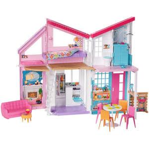Barbie Babaház kiegészítőkkel #rózsaszín 31042882 Babaház, vár, farm