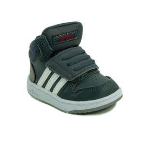 Adidas Hoops Mid 2.0 I Baby Fiú Száras Cipő 31368151 Magasszárú gyerekcipő, bakancs