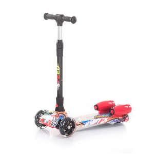 Chipolino Speed szuperszonikus roller #piros