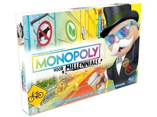 Hasbro Monopoly családi Társasjáték - Y-generáció kiadás