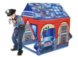 Ecotoys Játszósátor - Rendőrség #kék-piros 31066709 Játszósátor, játszóház, alagút