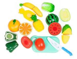 Vágható Élelmiszer készlet 18db 31066829 Babakonyha / Játékkonyha