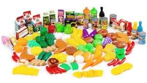 Élelmiszer készlet 120db 31067002 Babakonyha / Játékkonyha