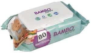 Bambo Nature Törlőkendő 80db 31069513 Törlőkendő