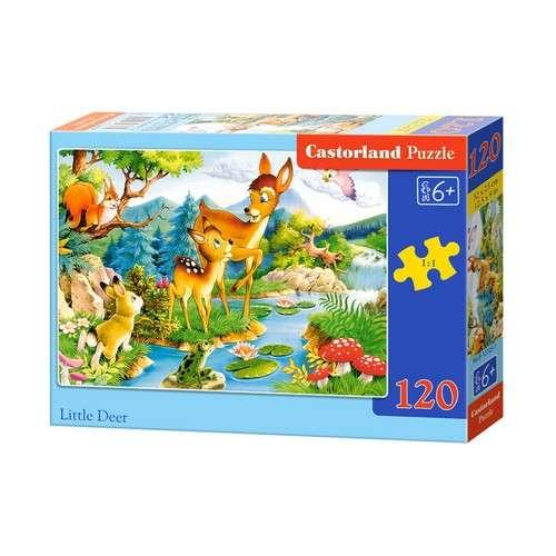 Castorland gyerek Puzzle 120db - Bambi