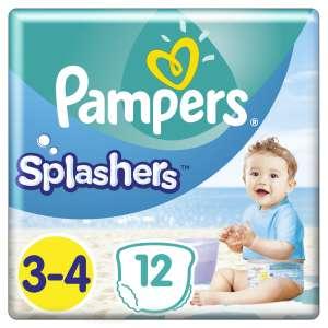 Pampers Splashers Úszópelenka 6-11kg Midi 3-4 (12db) 31133069 Úszópelenka