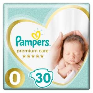 Pampers Premium Care Pelenka 0-3kg Newborn 0 (30db)