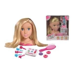 Simba sminkelhető babafej játék - 105560029 31133098 Szépítkezőasztal, sminkszett, illat