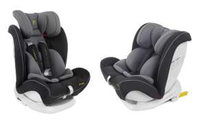 Summer Baby Verona ISOFIX biztonsági Gyerekülés 9-36kg #szürke-fekete 31136137 Summer Baby Gyerekülés