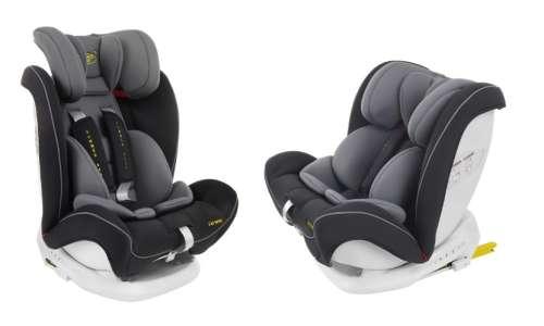 Summer Baby Verona ISOFIX biztonsági Gyerekülés 9-36kg #szürke-fekete 31136137