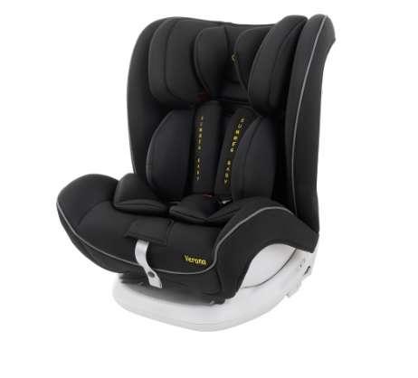 Summer Baby Verona ISOFIX biztonsági Gyerekülés 9-36kg #fekete 31136176