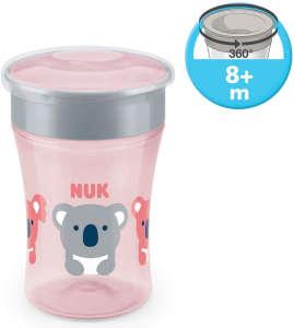 Nuk Magic Cup varázslatos Pohár 230ml - Koala maci #rózsaszín 31172196 Itatópohár, pohár
