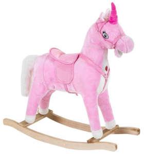 Hintaló hanggal - Unikornis #rózsaszín 31172347 Hintaló, hintázó állatka