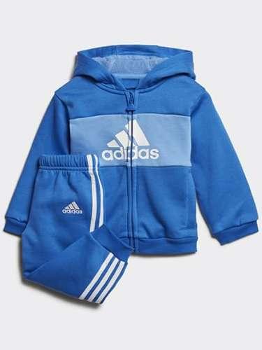 Adidas ORIGINALS LOGO HOODED JOGGER SET