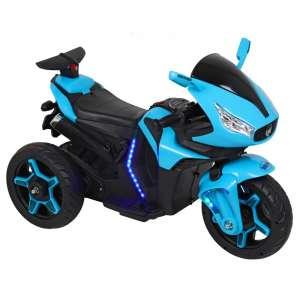 Baby Mix 3 kerekű világító Elektromos motor 12V #kék 31191899 Elektromos jármű