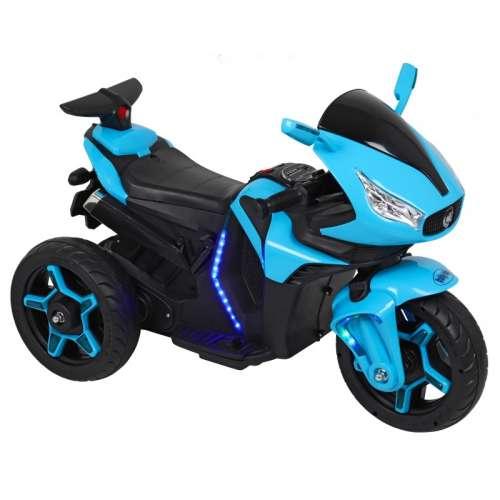 Baby Mix 3 kerekű világító Elektromos motor 12V #kék