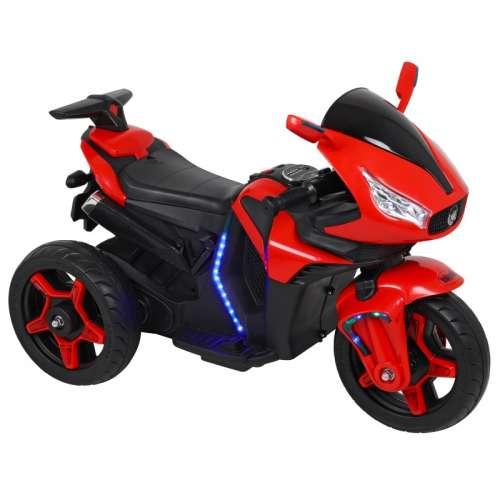 Baby Mix 3 kerekű világító Elektromos motor 12V #piros