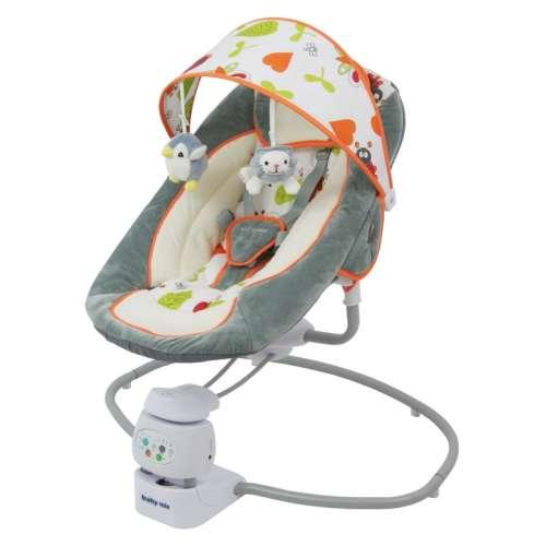Baby Mix prémium Elektromos hinta #szürke-bézs