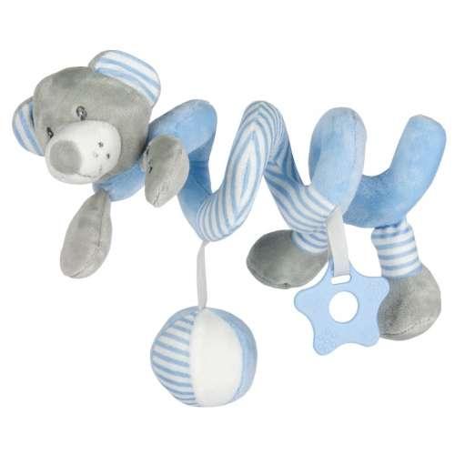Baby Mix Spirál játék - Maci #kék