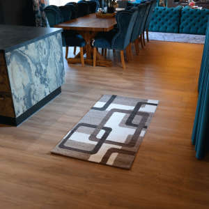 Gira Amsterdam bézs-fehér színű szőnyeg 80 cm x 150 cm -es 31192104 Szőnyeg