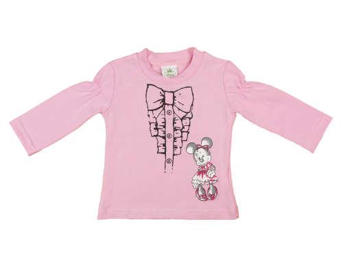 Disney Minnie baba/gyerek hosszú ujjú póló (méret: 74-110)