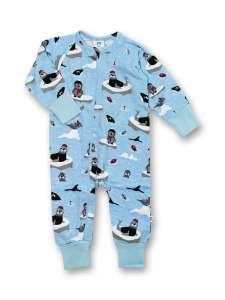 JNY organikus gyerek pizsama - fóka 31193980 Gyerek pizsama, hálóing