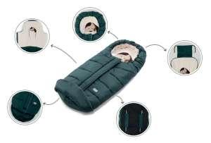 Nuvita AW Junior Cuccioli bundazsák 100cm - Cat Melange Gray / Black - 9605 31340555 Lábzsák és bundazsák
