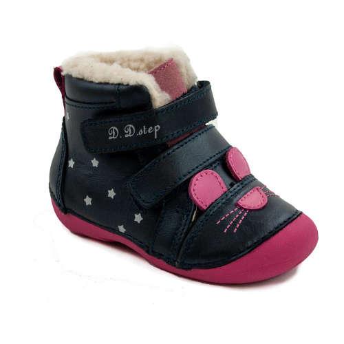 D.D.Step Lány Baby Vízlepergetős Bokacipő