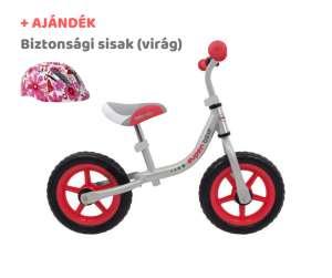 Baby Mix Super Bike Futóbicikli + ajándék sisak #piros-szürke 31198017 Futóbicikli