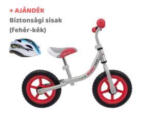 Baby Mix Super Bike Futóbicikli + ajándék sisak #piros-szürke 31198018 Futóbicikli