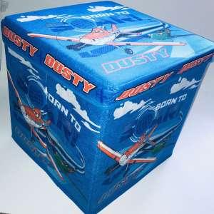 Disney Játéktároló puff - Repcsik #kék 31198069 Játéktároló