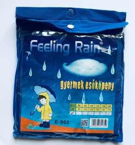 Gyerek Esőkabát # kék 31198080 Gyerek esőkabát, esőruházat