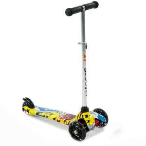Világító Roller #sárga-fekete 31198125 Roller és gördeszka