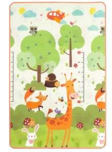 Nagyméretű Játszószőnyeg 120x180cm - Zsiráf #bézs-zöld - F