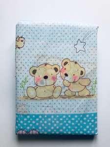 2 részes gyermek Ágynemű - Maci #kék 31198194 Ágynemű - ovi