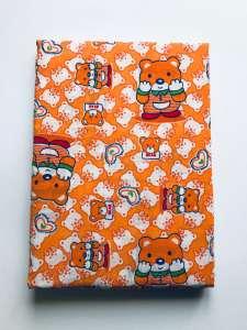 2 részes gyermek Ágynemű - Maci #narancssárga 31198203 90 x 130 cm