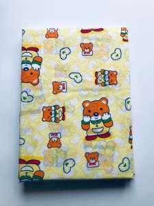 2 részes gyermek Ágynemű - Maci #sárga 31198205 90 x 130 cm