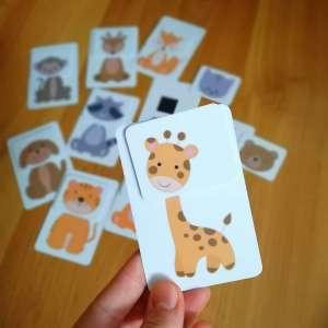 Mágneses Kártyajáték - Állatok 31199476 Kártyajáték