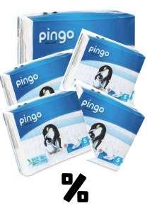 Pingo ökológiai eldobható Pelenka 11-25kg Junior 5 (180 db) 31263558 Pelenka
