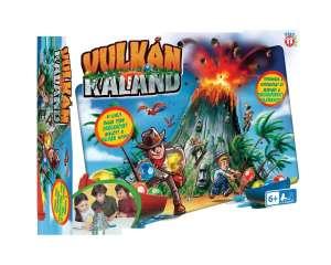 PlayFun Vulkán kaland családi Társasjáték 31200402 Társasjáték