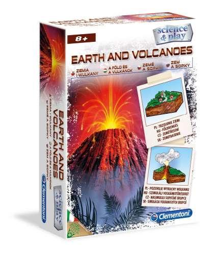 3D Felfedező játék - Vulkán
